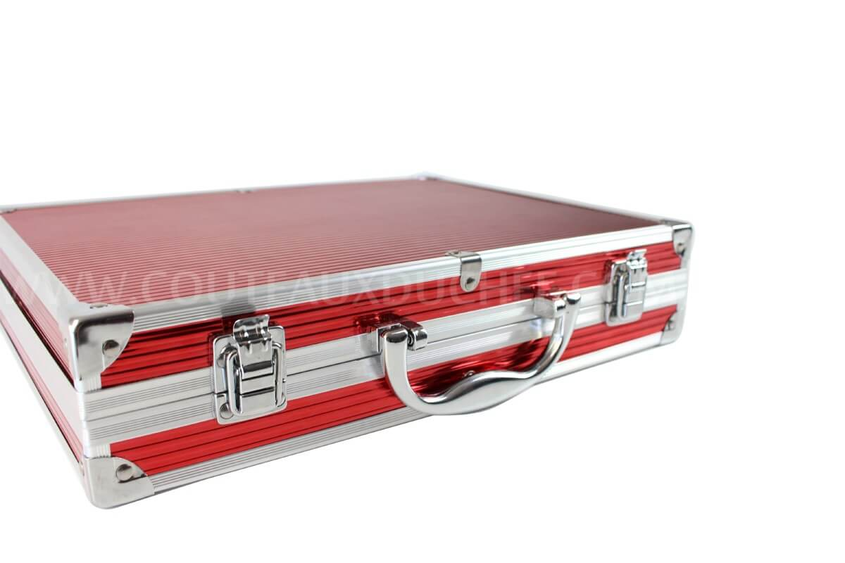 Valise 12 Couteaux Pradel Excellence Rev 234 Tement Titane