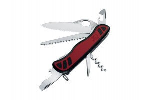 Couteau suisse Victorinox Forester One Hand 111mm 10 fonctions