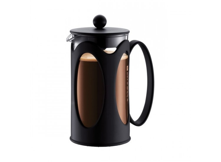 Cafeti re bodum verre kenya piston filtre inox 1l - Utilisation cafetiere a piston ...