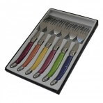 Coffret 6 fourchettes de table Laguiole Pastel